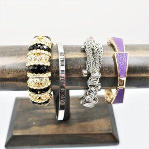 Bracelets 4, Including Joy Cuff, Charming Charlie